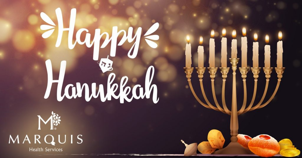 Wishing All A Happy Hanukkah Marquis Health Services