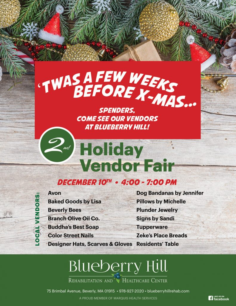 Christmas Fair Chiltonville 2020 Upcoming Event: 2nd Annual Holiday Vendor Fair   12/10   Blueberry