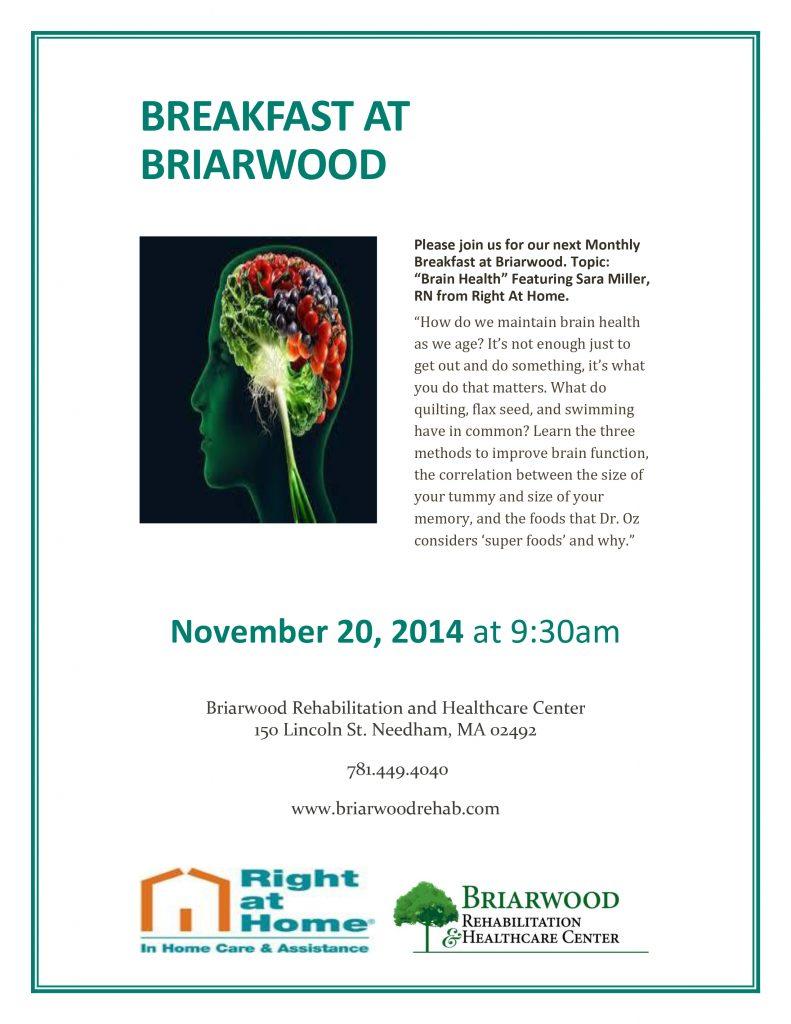 Breakfast At Briarwood November-1