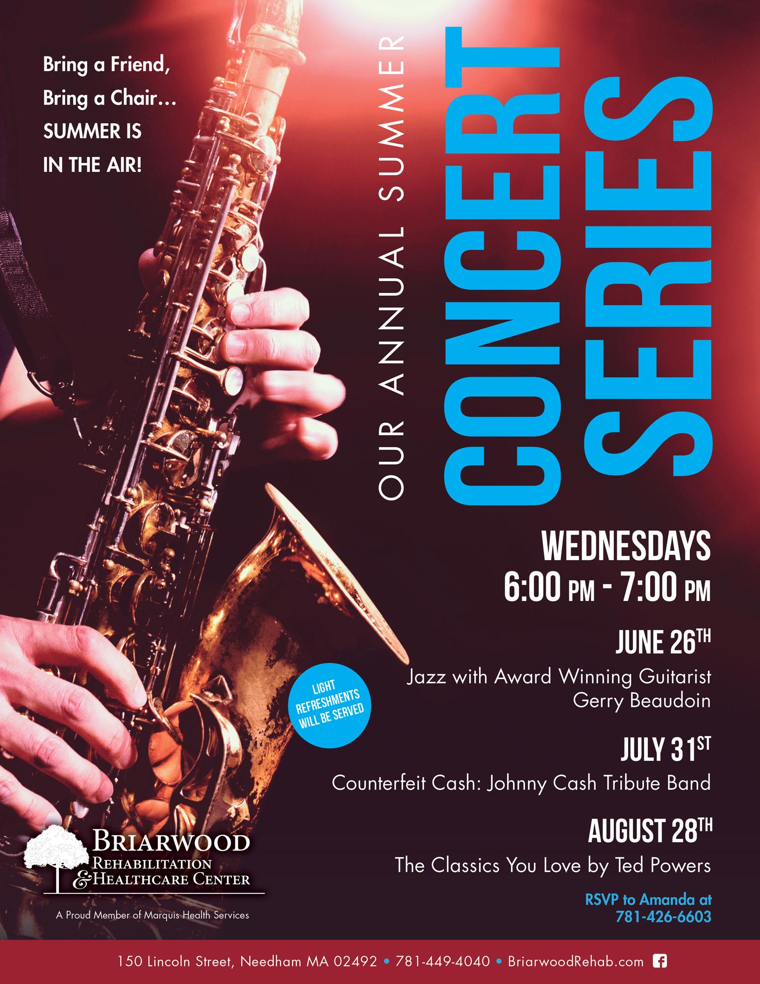 annual summer concert series