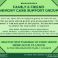 Upcoming Event: Family & Friend Memory Care Support Group (Every First Thursday)