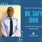 Feature Friday at Collingswood Features: Dr. Safy John, Pulmonary Director!
