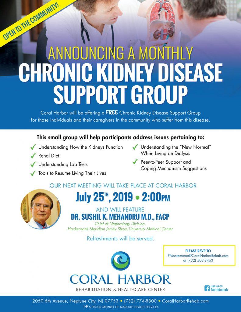 Chronic Kidney Disease Support Group - 7/25