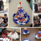 Lantern Crafts with Our Lady of Peace's Youth Ministry Group