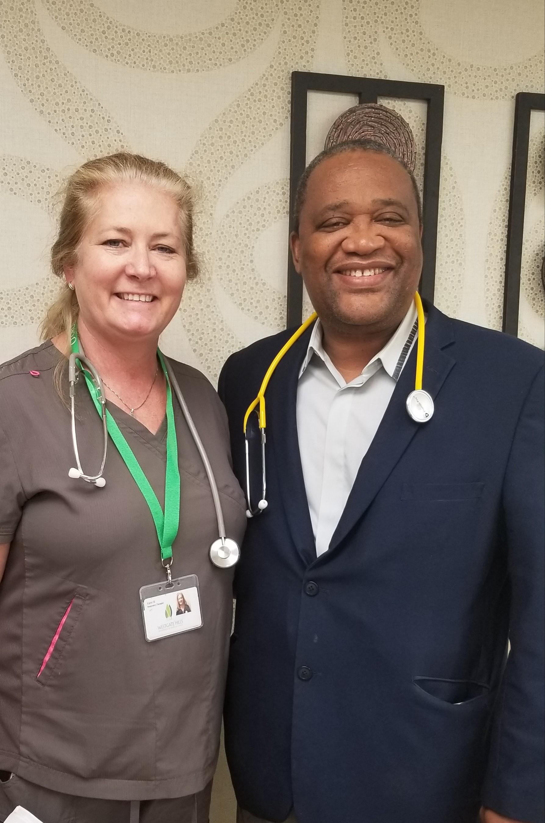 Our Respiratory Therapist & Pulmonologist
