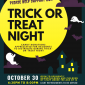 Upcoming Event: Trick-or-Treat Night at Willow Springs