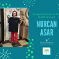 Congratulations to our Most Recent ICARE Winner: Nurcan Asar!