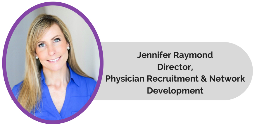 Jennifer Raymond, Director of Network Development at Marquis Health Services