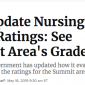 Feds Update Nursing Home Ratings See Summit Area Grades – Spring Grove Featured